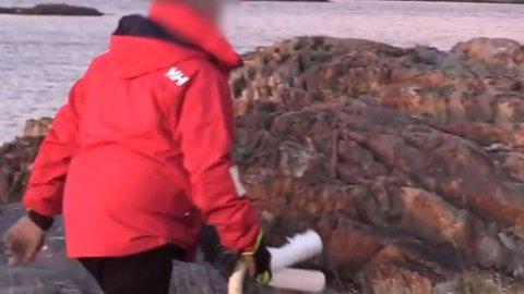 VIDEO: En video som ligger på Youtube viser en promovideo om foreningen som skulle rydde søppel.
