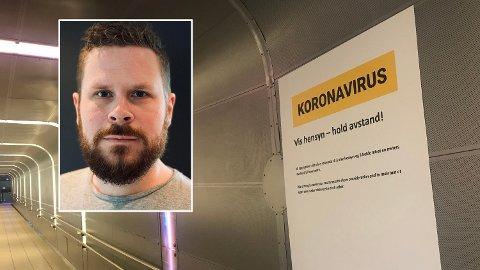 – AV MED SILKEHANSKENE: Andreas Aass-Engstrøm, lege i spesialisering ved Medisinsk klinikk ved Sykehuset i Vestfold.