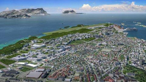 Koronakrisen påvirker fremdriften av ny flyplass i Bodø.
