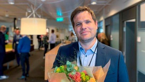 NY DIREKTØR: Jon Halvorsen er ansatt som ny direktør i HRS.
