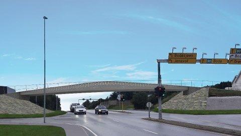 Nye Veier legger opp til en bompengeandel på 35 prosent i forslaget om firefeltsvei.