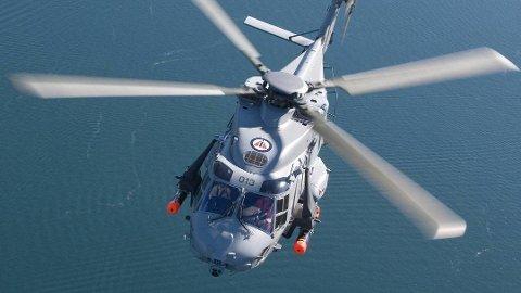 KV Andenes hadde et NH90-helikopter om bord. Dette ble imidlertid ikke tatt i bruk.