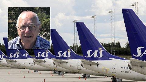 – Jeg er blitt anbefalt å gå til advokat og sende inkassokrav. Men det koster meg 13.000 kroner, og jeg regner ikke med at SAS betaler mellomlegget, sier Hasse Gaupset (75), som har ventet et halvt år på å få refundert en SAS-billett.