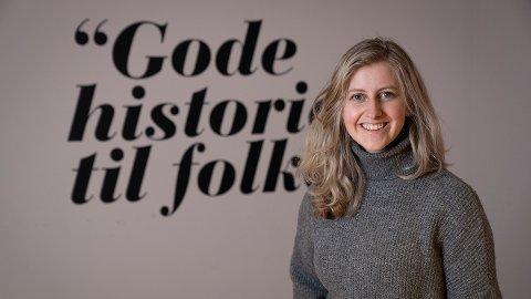 Glad: Trine Lysholm Hagan er ansatt som ny prosjektleder i Deadline Vesterålen.