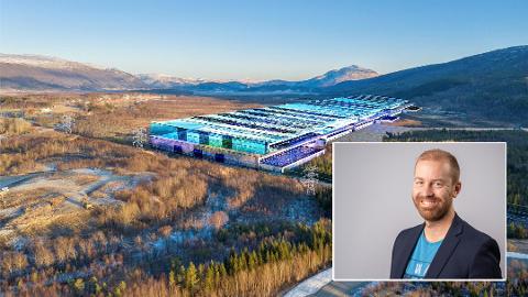 Stortingskandidat Håkon Andreas Møller har sine tanker om dannelsen av den nye gigafabrikken.