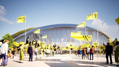 Bodø/Glimt har ytret ønske om å bygge nytt stadion. I dag sa Plan- og miljøutvalget nei til å bygge ned Rønvikjordene.