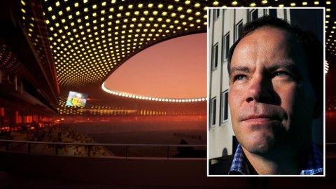 Tomas Norvoll (Ap) har vært i flere møter med Glimt. Han understreker at årsaken er at Nordland fylkeskommune eier arealene,