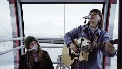 I see rivers med Gøril Nilsen, som nå bor i Bodø, skal spille på verdens største musikkfestival senere i mars.