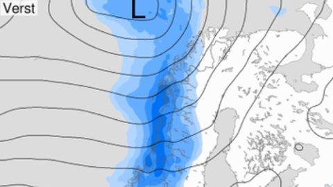Illustrasjon: Meteorologene på Twitter.