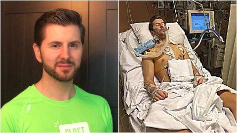 André Tøgersen skal forsøke å løpe halvmaraton i påsken. I 2015 ble han lungetransplantert.