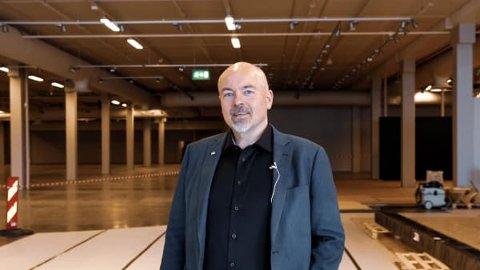 Bodø Storsenter: Administrerende direktør i M Nordvik, Chriss Marken.