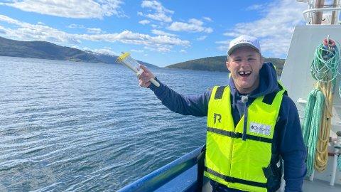 Morten Thoresen er nok bedre på brytematta enn med fiskesnøret. Det ble knapt et eneste napp da brytelandslaget hadde sin interne fiskekonkurranse her om dagen.