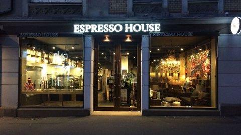 Jakter: Espresso House søker etter coffee shop manager i Bodø.