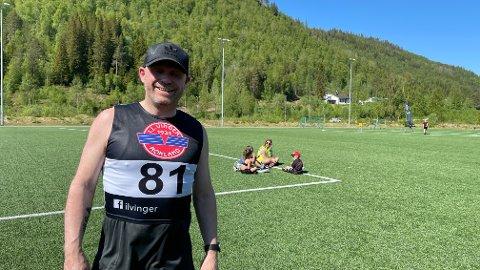 Konstituert kommunedirektør i Saltdal, Stein Ole Rørvik, roste arrangøren for et strålende gjennomført Saltdalsløp.