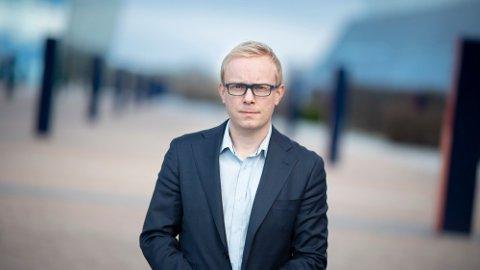 Informasjonssjef i Telenor, Magnus Line.