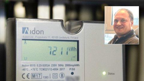 PRISHOPP I VENTE: Lite nedbør i høst kan gi rekordhøye strømpriser mot slutten av året, anslår Tor Reier Lilleholt, analysesjef i i Wattsight.
