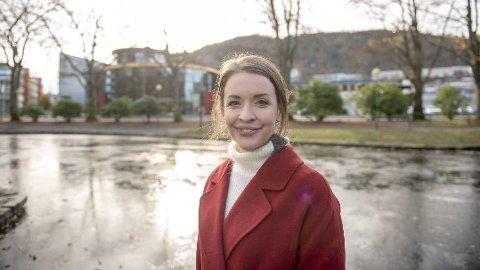 Ina Ynnesdal, vakthavende meteorolog i StormGeo.