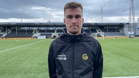 Mattias Käit angrer ikke et sekund på at han forlot Estland og forfulgte proffdrømmen i England allerede som 15-åring. Nå skal den estiske landslagspilleren fortsette utviklingen som fotballspiller i nye omgivelser på Aspmyra.