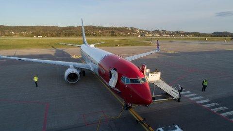 En passasjer fikk et illebefinnende under flyvningen fra Oslo til Evenes. Illustrasjonsfoto.