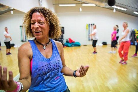 Zathryn Fowles gir alt for kundene sine, både i og utenfor treningssalen.