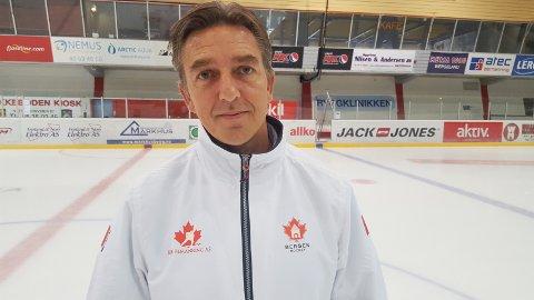Kenneth Fure, markedssjef i Bergen Hockey.