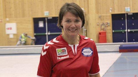 Leder i Gneist turn, Stina Hansen, har ny turnhall i Ytrebygda bydel øverst på sin ønskeliste til jul.