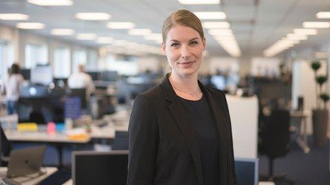 Kommunikasjonssjef i Sparebank 1, Ida Håvik.
