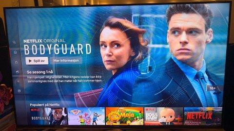 Du slipper nå å gå inn i Netflix-appen for å finne det du ønsker å se på. Det holder å bruke boksens egen søkefunksjon.