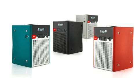 De brannfarlige Pinell Go/Go+-radioene er av denne typen