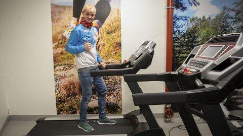– Disse møllene er veldig gode. Her har de fått seg skikkelig utstyr, sier ultraløper Bjørn Tore Taranger. FOTO: Bernt-Erik Haaland