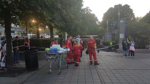 En Brann-supporter ble søndag påkjørt av T-banen i Oslo.