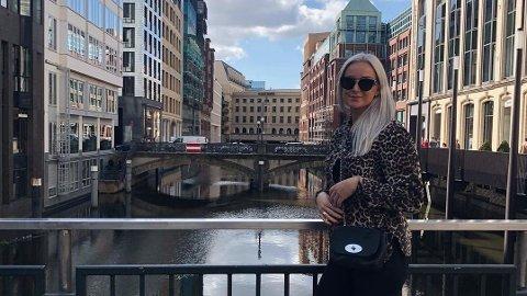 Celine Sivertsen (26) fra Bergen spiller for den danske storkluben Randers. Foto: Torjus Sivertsen