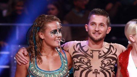 Helene Olafsen og Jørgen Nilsen i fjorårsutgaven av «Skal vi danse» Foto: NTB Scanpix