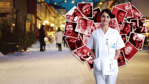 Ida Elise Broch spiller den single sykepleieren Johanne i den nye Netflix-serien som har premiere på torsdag.