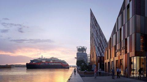 Illustrasjon: Vill Urbanisme/HI/Hurtigruten