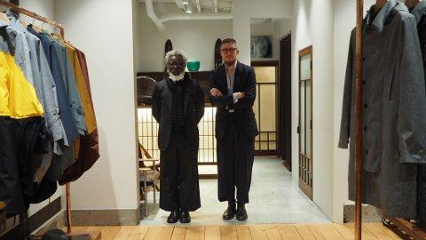Michael Tetteh Nartey og Alexander Helle stortrives i Tokyo.