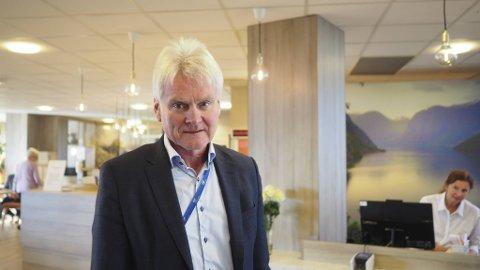 Divisjonsdirektør Askjell Utaaker i Helse Bergen er trygg på at de har nok oksygen til å takle pandemien.