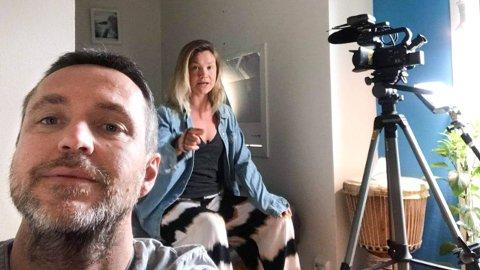 Eirik Gjesdal og Henriette Vasstrand ble kjent da førstnevnte laget dokumentaren «Overleverne». Her er et bilde fra den nye dokumentarserien «Krigerhjerte», som kom ut i begynnelsen av februar.