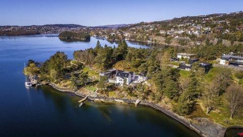 En av de dyreste eiendommene på Bønes-siden ble solgt torsdag.
