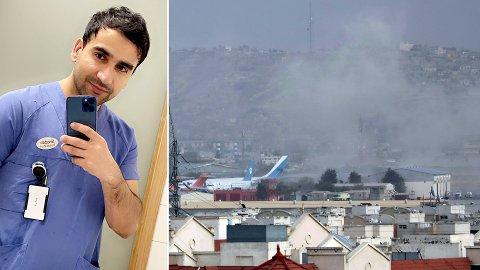 Shadab Sarferaz rakk akkurat å komme seg ut av Afghanistan før Norge midlertidig stanset hjemhentingen fra området.