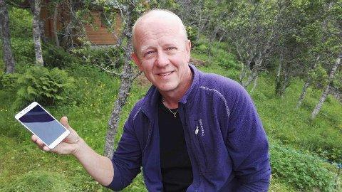 AMS-måleren gir mer stråling i heimen, på toppen av den vi allerede får fra mobil og trådløse nettverk, sier Jonas Ellingsen. (Foto: Privat)