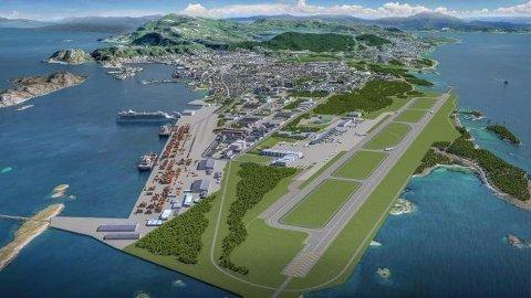 Måten både den nye bydelen og den nye flyplassen utvikles på vil bety mye for hvorvidt Bodø når sine klimamål. De siste beregningene viser klimagassutslipp for bygging av den nye flyplassen tilsvarende hele Bodøs utslipp i ett år.