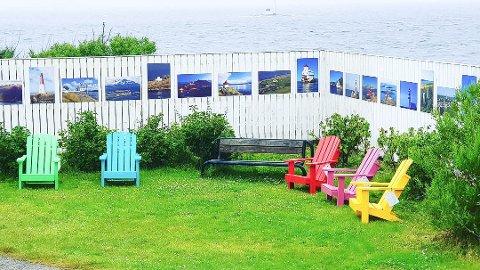 Ranso AS håper mange får glede av de nye flotte stolene.