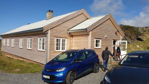 Ansiktløftning: Den gamle befalsmessa på Fjøløy Fort er renovert og kan nå tas i bruk til blant annet leirskole.