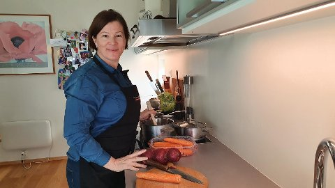 Tips til matretter: Ingveig Tveranger kommer med fem ulike tips til matretter. -  Nå er vi i en helt spesiell situasjon. Da trenger vi mat som gir oss godfølelsen, sier hun.