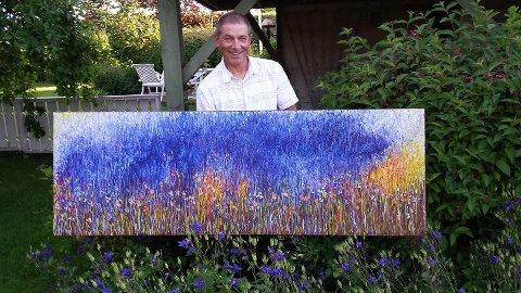 Mindor Vårvik har malt siden han var barn.