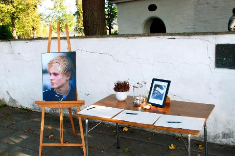 I retten: Det er satt av fire dager i tingretten i Hokksund til saken der en 21-åring står tiltalt for å ha drept Jonas Wendelborg Bråthen.                                                           Arkivfoto