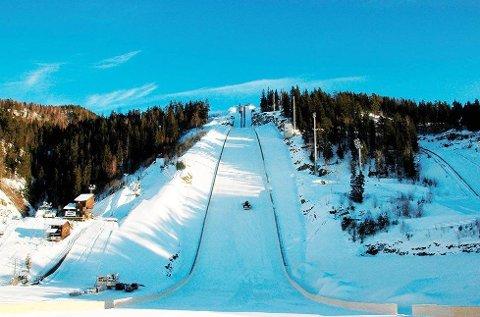 SNART KLART: Norges Skiforbund har tatt ut i alt 13 hoppere til verdenscupen i Vikersund. Tre av dem er fra Buskerud. Arkivfoto