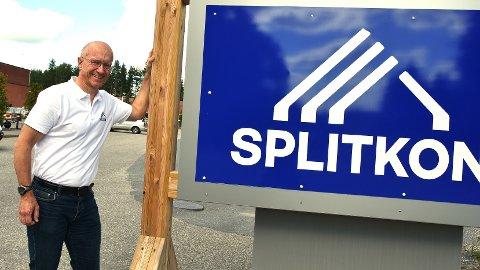 SER FRAMOVER: Morten Leander Johansen fokuserer på de mange jobbene Splitkon kan være med på når den nye fabrikken blir ferdig.