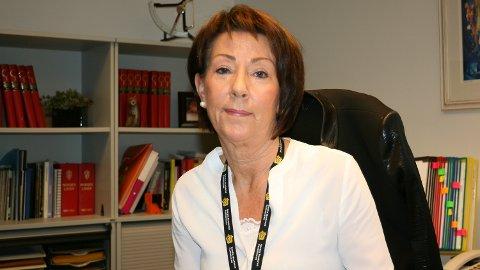SNART PÅ FLYTTEFOT: Karin Bergan Strand vil ikke være negativ til forandringer, og velger derfor heller å glede seg.
